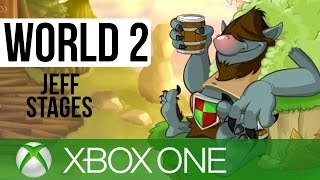 Peggle 2 Gameplay Walkthrough Part 2 - World 2: ALL JEFF LEVELS!! (XBOX ONE Gameplay 1080p HD)
