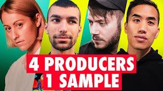 4 PRODUCERS FLIP THE SAME SAMPLE ft. Chuck Sutton, Dresage, MUST DIE!