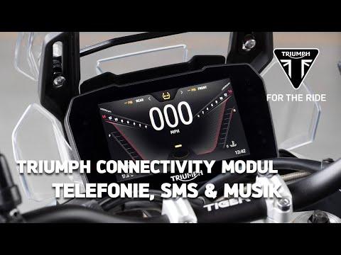 Triumph Motorrad Connectivity Modul - Telefonie, SMS & Musikwiedergabe