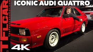 In The Driver's Seat of the Legendary 1984 Audi Sport Quattro!