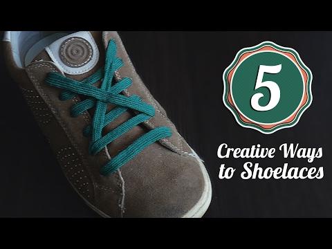 5 Creative Ways to fasten Shoelaces. Life hacks | EasyHack