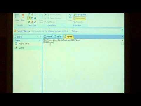 How to Look Up Values From 1 Microsoft Access Table & Automatically Insert  Them in Another Table