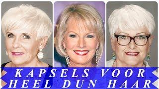 Kapsels voor oudere dames met dun haar