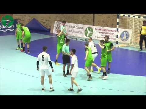 Albania - Ireland 33:50 (18:25) Group A | 2nd IHF Men's Emerging Nations Championship, Bulgaria