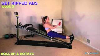 total gym ab exercises  total gym