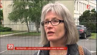 RETRAITES: LES FONCTIONNAIRES EN LIGNE DE MIRE?   04/06/13