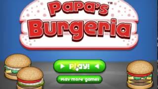 Hooda Math Papa's Burgeria With Daniel