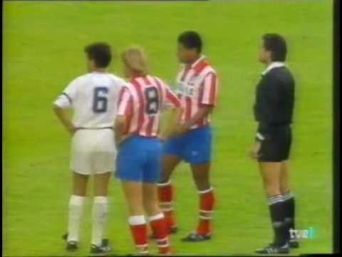 Gol de Schuster y Futre en la final de la copa del rey 1991-1992