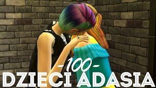 The Sims 4 Pl : Wyzwanie 100 dzieci Adama #135 - Pierwsze ugryzienie