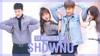 10 MINUTES OF MONSTA X SHOWNU'S FUNNY MOMENTS