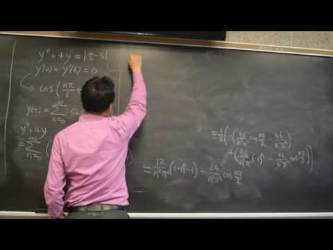 Solving End Point Value Problem Using Fourier Series