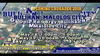 Please Watch!!! JMCIM Central Live Streaming of WEDNESDAY MIDWEEK SERVICE | MAY 01, 2019.