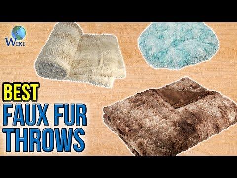 10 Best Faux Fur Throws 2017