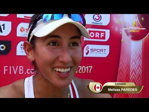 Canadians Sarah Pavan and Melissa Humana-Paredes reach the semi finals in Vienna
