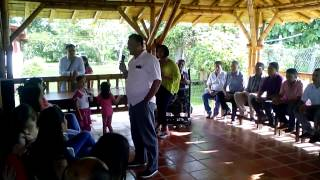 Rafael Duran habla de la unidad Pueblo bello