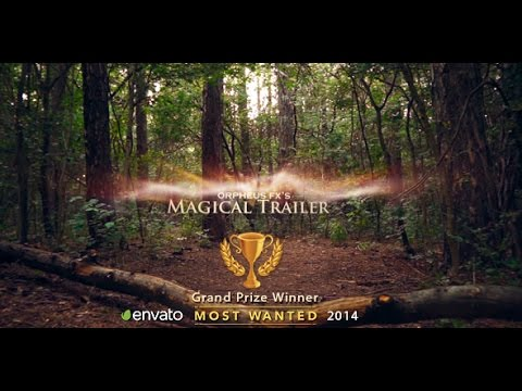 Magical Trailer ( After Effects Project Files)
