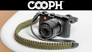 Created by COOPH: The Leica Paracord Strap