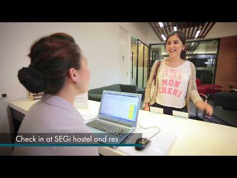 Simple arrival checklist for new SEGi international students