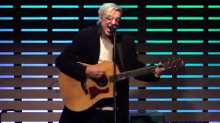 "Robert DeLong performs ""Favorite Color Is Blue"" during a 101WKQX in..."