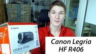 обзор видеокамеры  Canon legria hf 406