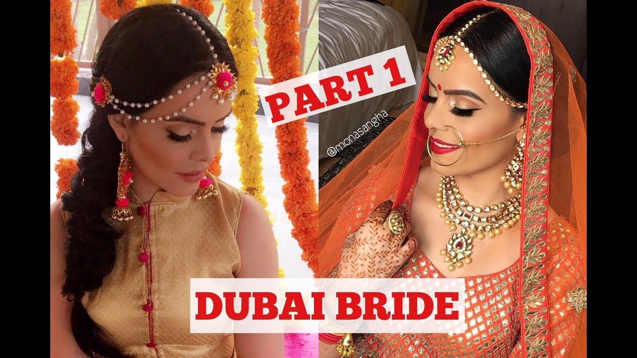 INDIAN BRIDE IN DUBAI | DUBAI VLOG PART 1