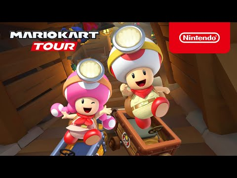 Mario Kart Tour Captain Toad Update Arrives Siliconera