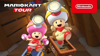 Mario Kart Tour - Exploration Tour Trailer