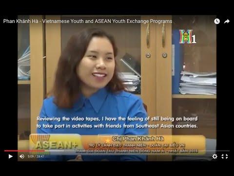 Phan Khánh Hà - Vietnamese Youth, SSEAYP and ASEAN
