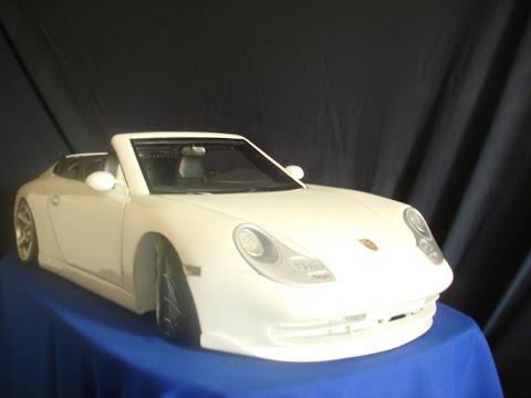 Модель Porsche своими руками.