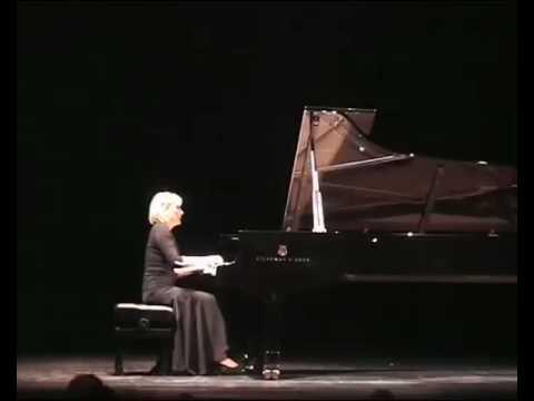 Elena Filonova plays Grieg Lyric Pieces: Melody, Paris 2009