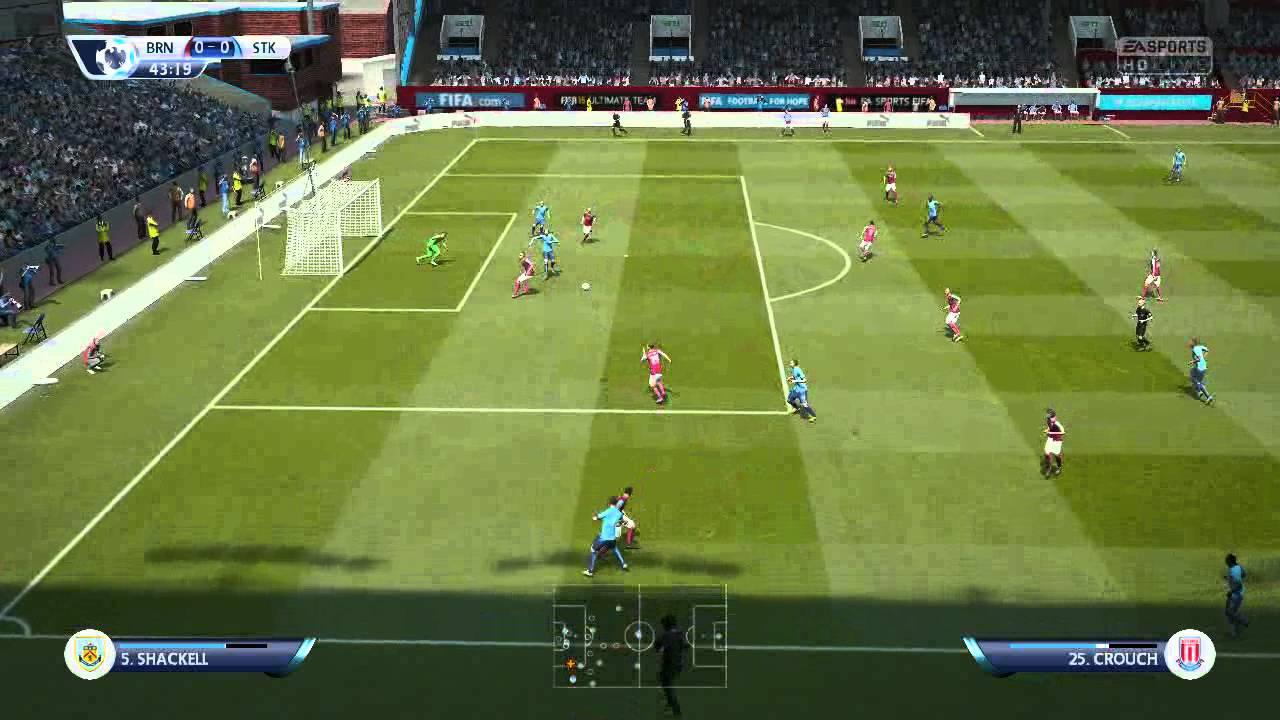2014~15 Barclays Premier League burnley vs stoke city
