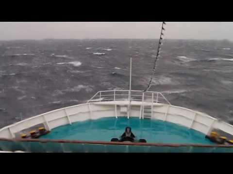 Lissos at heavy sea