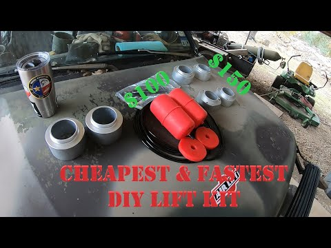 THE CHEAPEST SUZUKI SIDEKICK LIFT KIT DIY