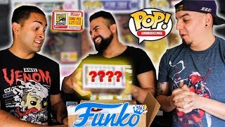 FUNKO POP MYSTERY BOX UNBOXING! BLINDLY CHOOSING FROM $100+ WORTH OF FUNKO POPS!
