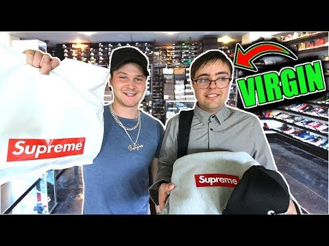 GIVING A 25 YEAR OLD VIRGIN A HYPEBEAST MAKEOVER!!