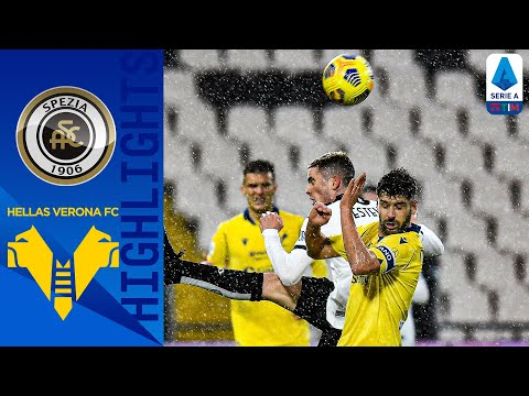 Spezia Helas Verona Goals And Highlights