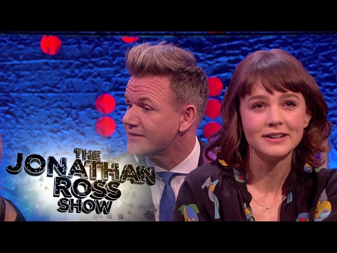 Carey Mulligan reminiscing about Gordon Ramsay's first job - The Jonathan Ross Show Classic