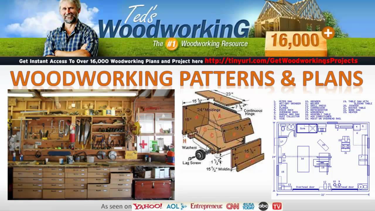 Woodworking Crafts - Cabinet Bed Plans - YouTube
