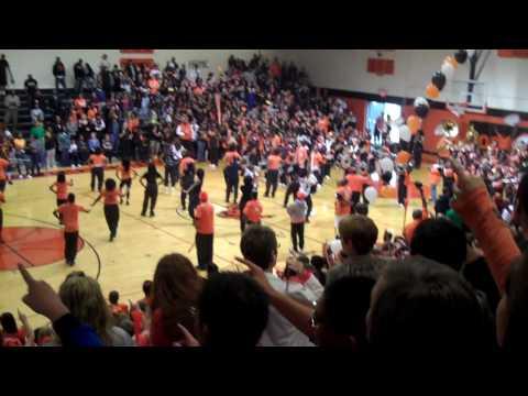Booker T. Washington High School Homecoming Pep Rally 2009