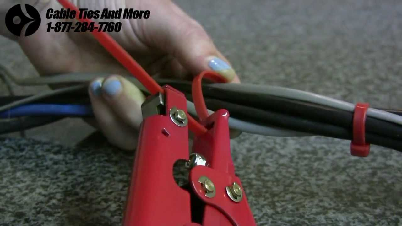 Cable Tie Gun Tools Youtube