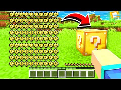 Minecraft MAIS ma vie = Luckyblock !