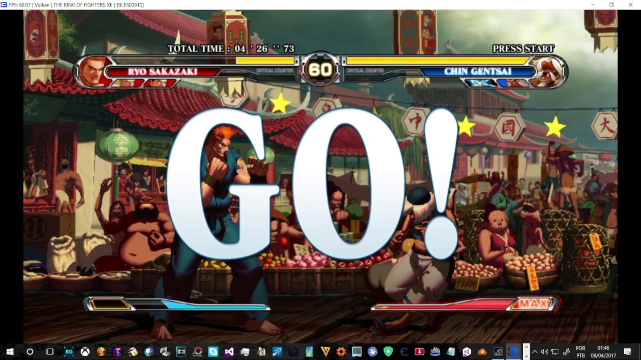 Ps3 Emulator Rpcs3 The King Of Fighter S Xii Ingame Vulkan Llvm