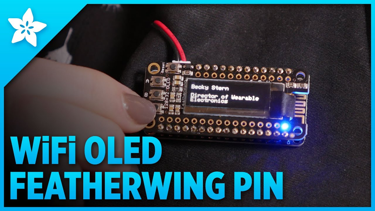 Overview | WiFi OLED Display Badge | Adafruit Learning System