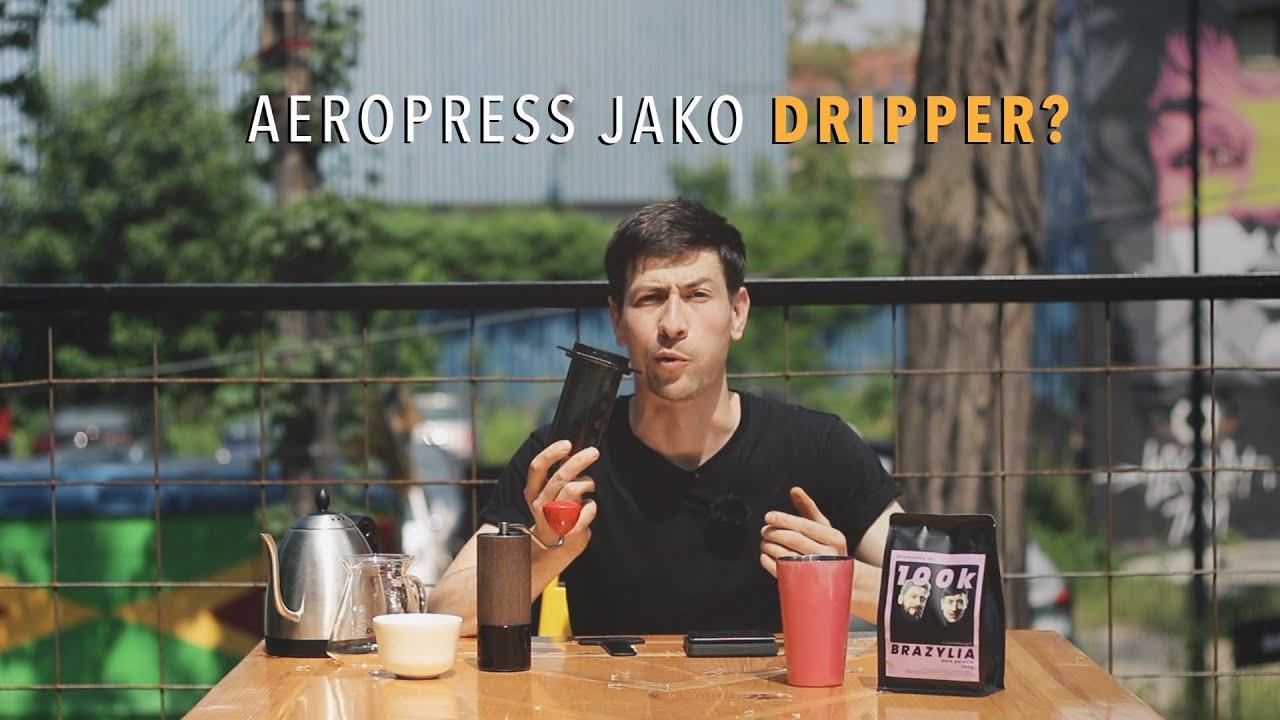 Czy z aeropressu można zrobić dripper do kawy? | Czajnikowy.pl