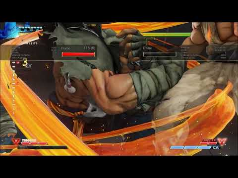 Rising Up Bread and Butter Combo Guide: Sagat