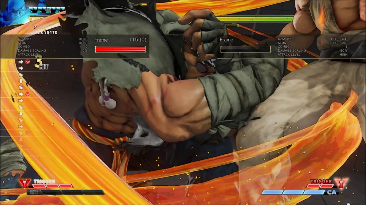 Rising Up: Sagat bread-and-butter combo guide — Punishes, confirm