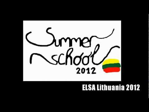 ELSA Lithuania Summer Law School 2012