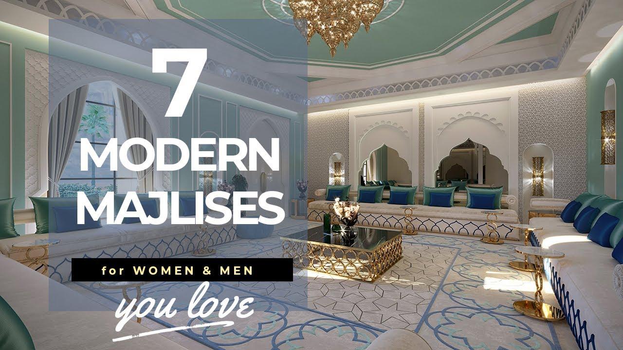 Luxury Modern Arabic Villa Interior Design With Beautiful White Islamic Style Home Decorations Youtube