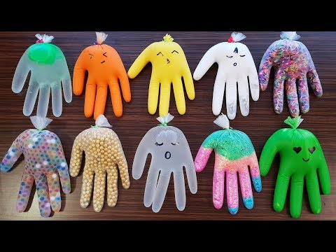 Making Slime With Gloves 2019 -  Izabela Stress