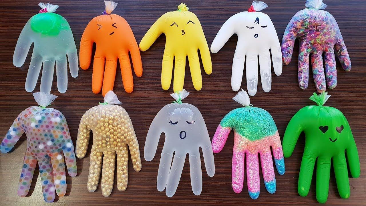 Download Making Slime With Gloves 2019 -  Izabela Stress